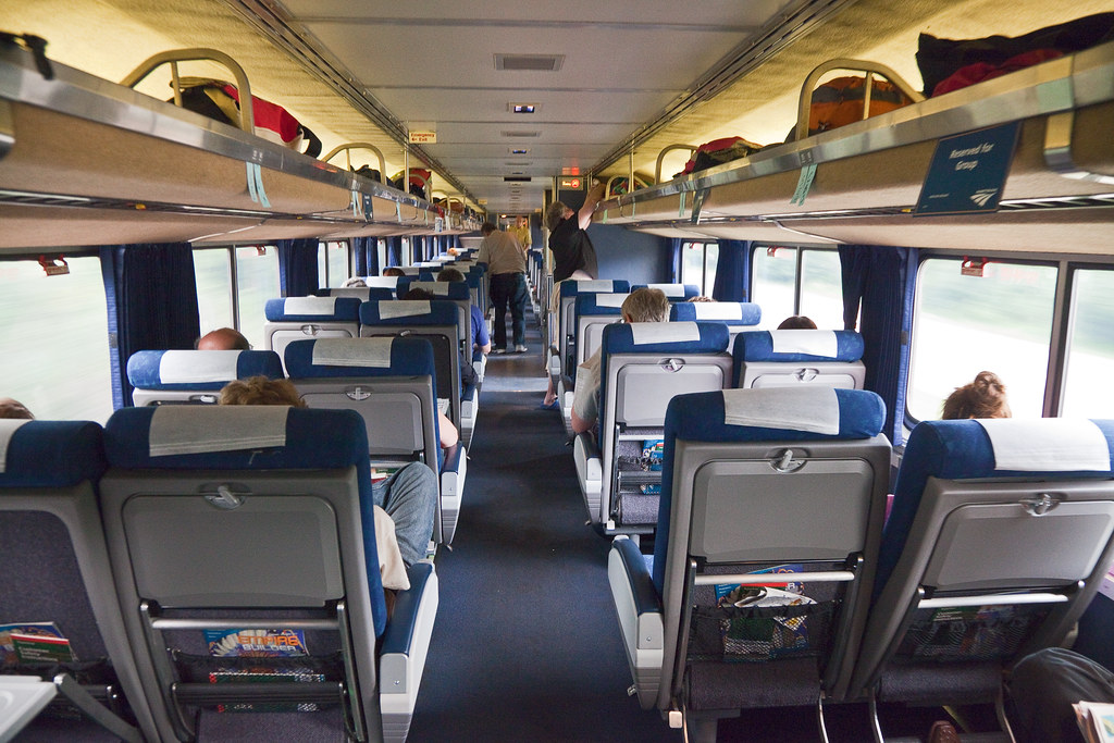 Amtrak Train Interior Images