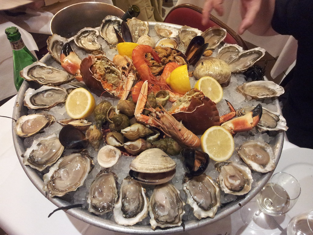 cold seafood platter can include any kind of seafood you like. The ...