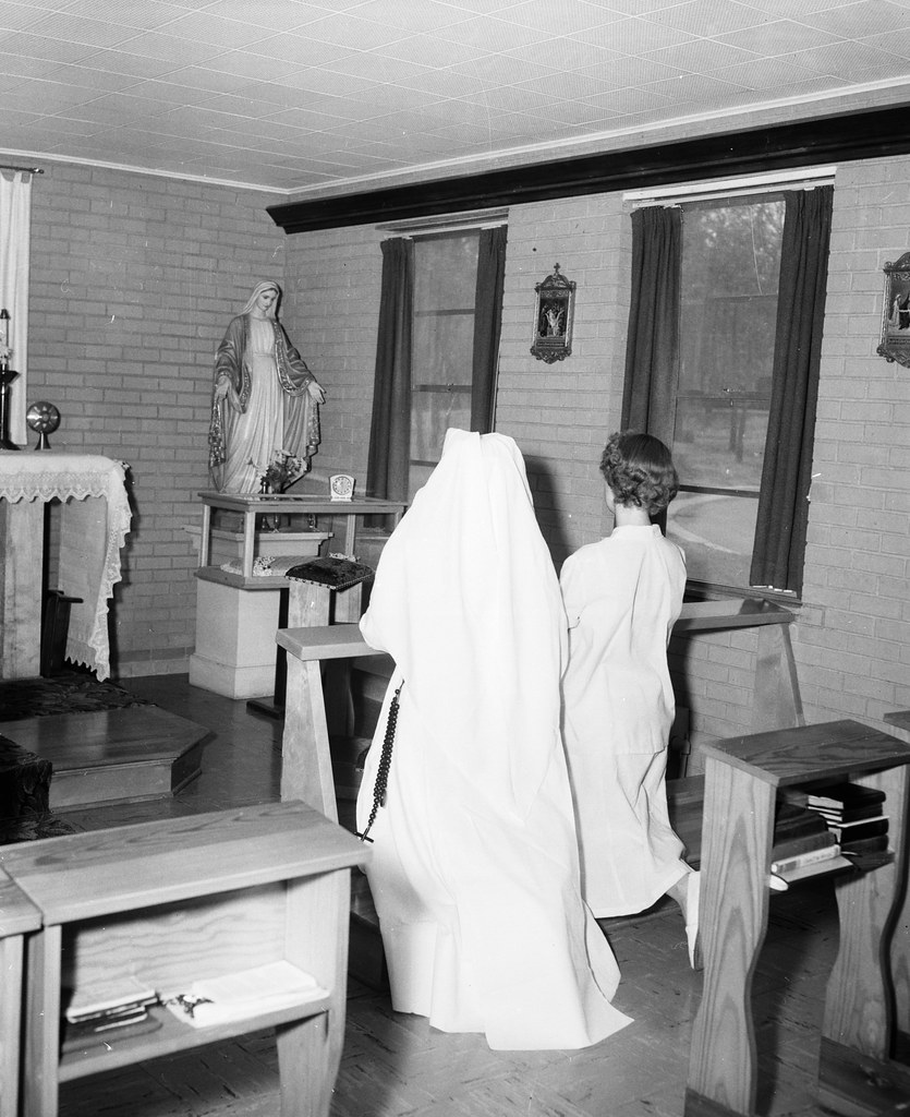 Ford Of Tulsa: Unidentified Nun And Woman