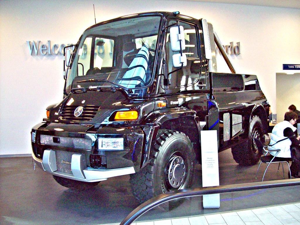 184 Unimog U500 Black Edition 2005 On Unimog U500