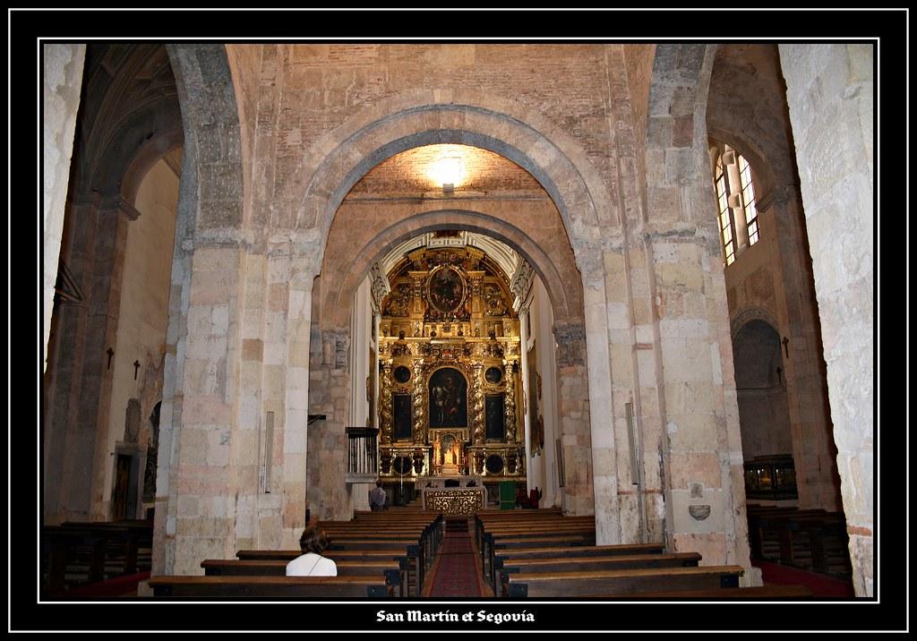 Iglesia de San Martin / Segovia  San Martin posee tres nave…  Flickr