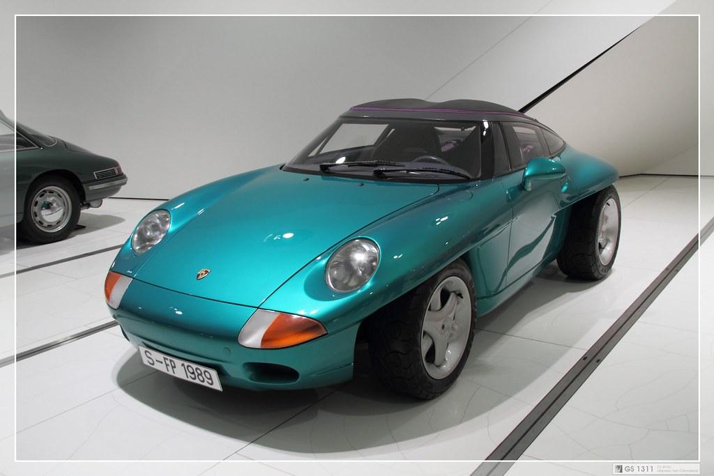 1989 Porsche Panamericana Concept Car The Porsche