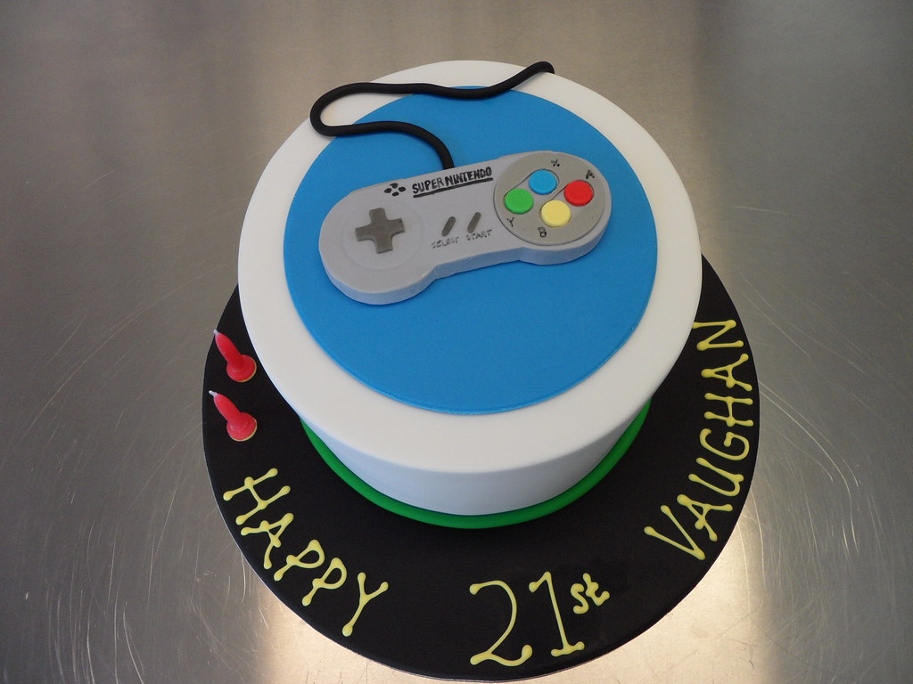 Super Nintendo Cake Kylie Ballard Flickr