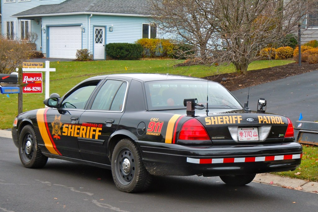sheriff patrol onondaga county sheriff deputy car along ol flickr. Black Bedroom Furniture Sets. Home Design Ideas