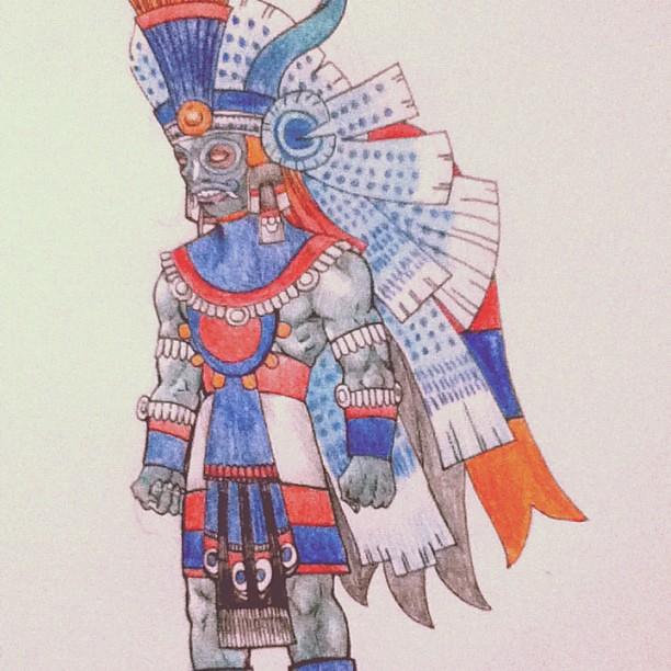Tlaloc Aztec god #art ...