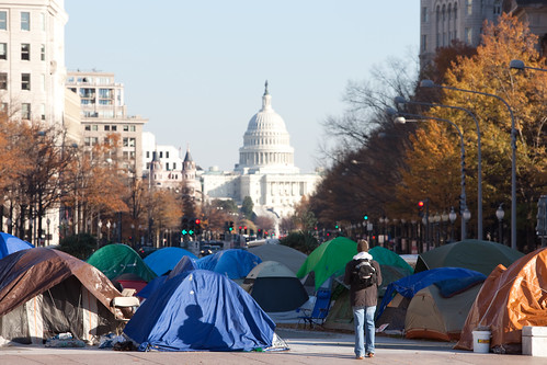 Occupy D.C., Freedom Plaza | by metroblossom