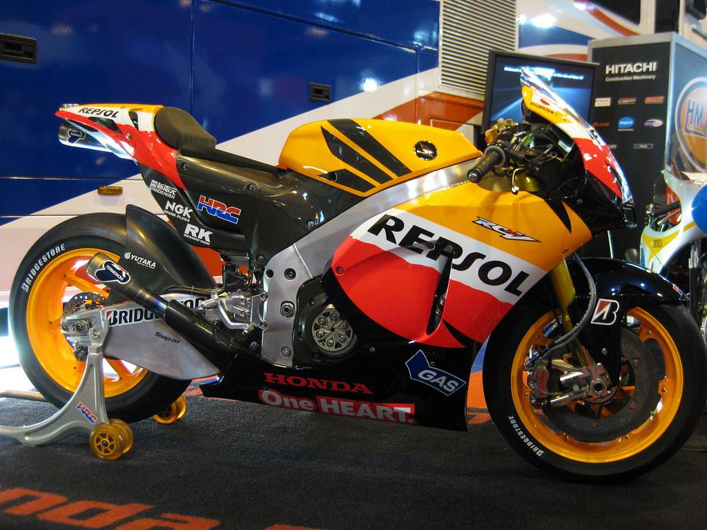 Casey Stoner motogp Honda Repsol RC212V | Pic from the NEC B… | Flickr