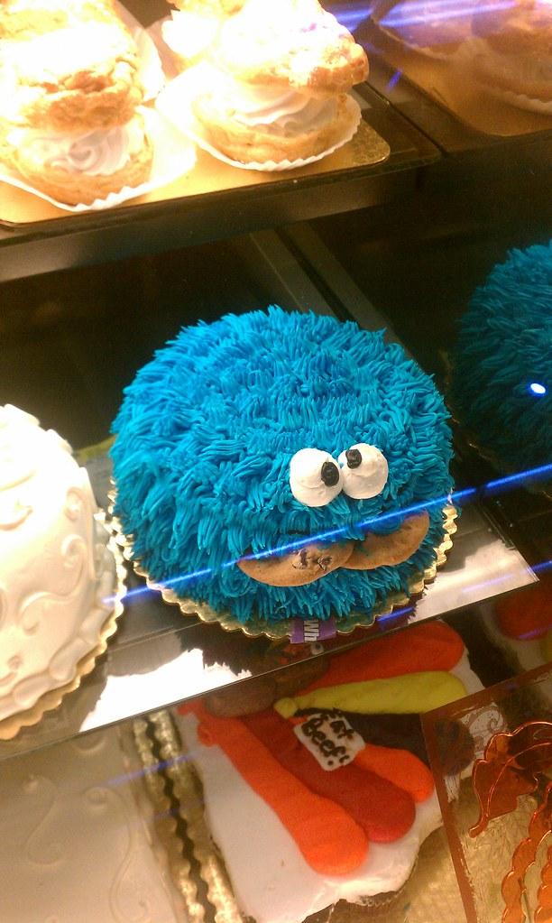 Albertsons Cookie Monster Cake