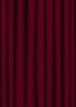 Maroon Stage Curtains Rt