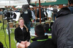Wimbledon 2011 in the Press Area