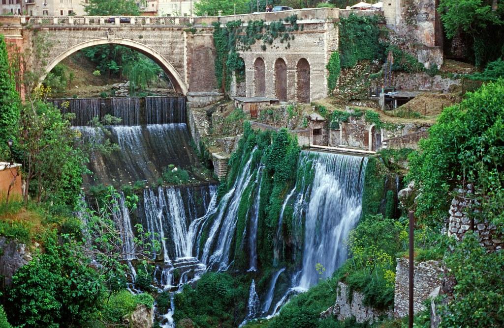 Waterfalls Tivoli Italy Nikkormat Ftn Camera 55mm