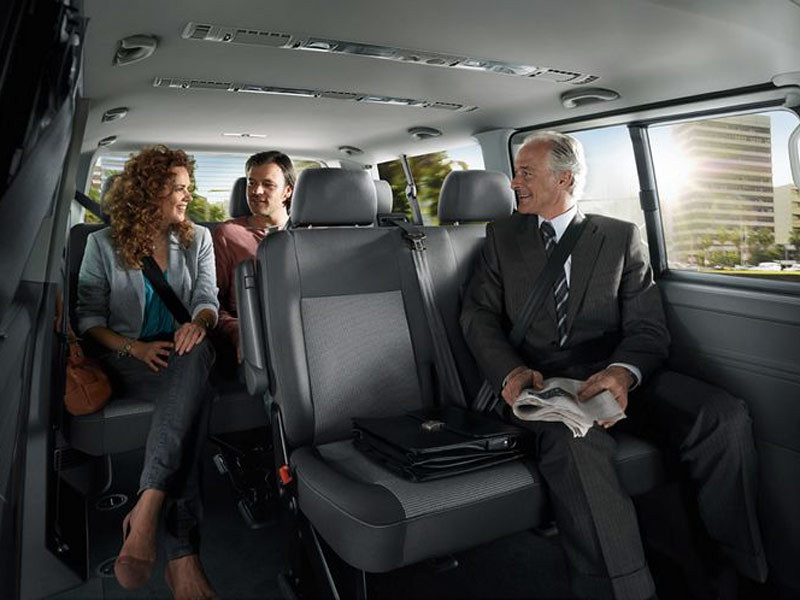 vw transporter shuttle seating configurations with. Black Bedroom Furniture Sets. Home Design Ideas