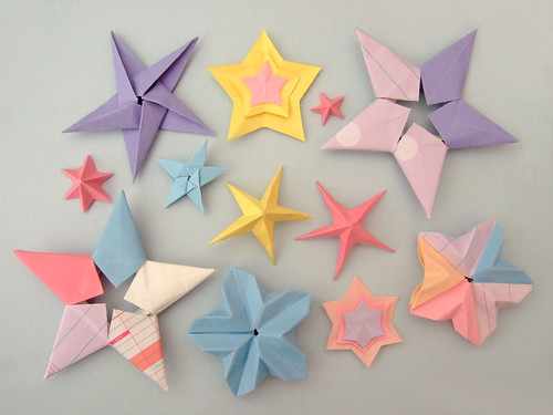 Galaxy of origami stars | by bloomize