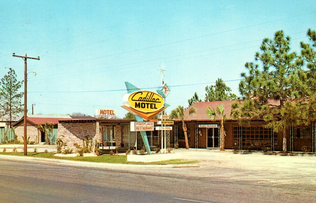 Cadillac Motel - Florence, South Carolina