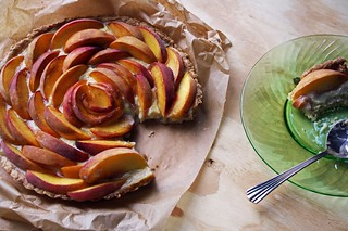 Peach Tart | by Carrol Luna