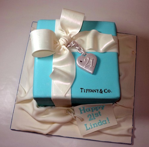 tiffany box cake for linda one of the cakes i made this