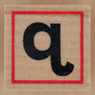 Rubber Stamp Letter q | by Leo Reynolds