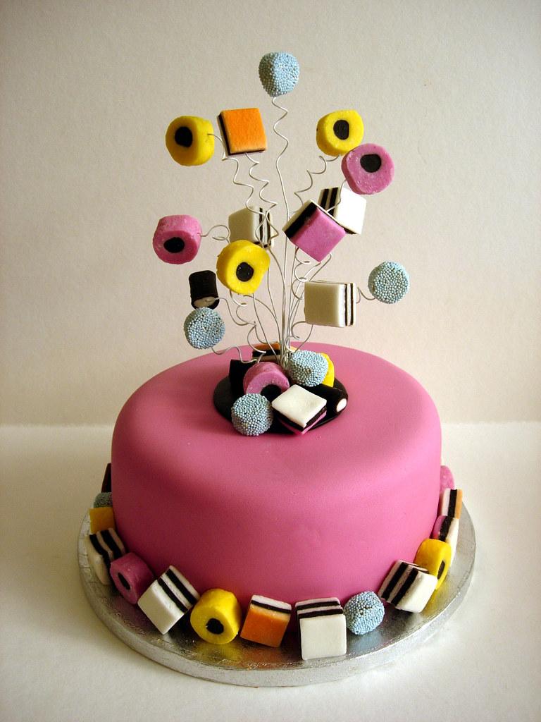 Cake With Liquorice Allsorts
