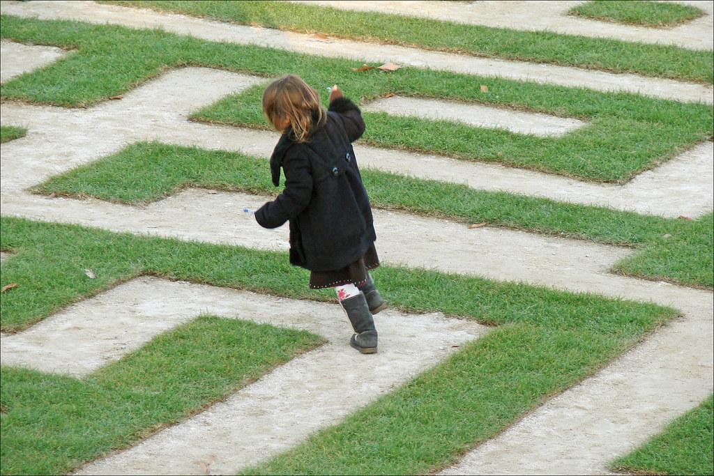 L 39 enfant dans le labyrinthe la fiac 2011 au jardin des tu for Au jardin de jean pierre inc