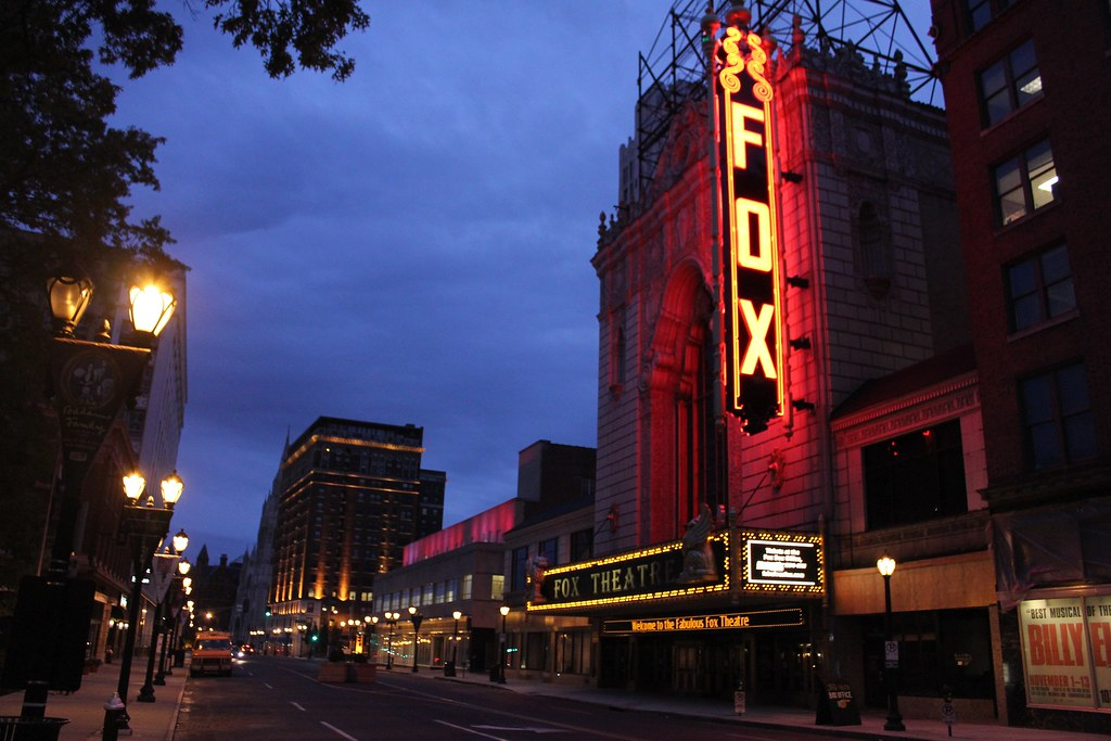 the fabulous fox theatre st louis mo the fabled old