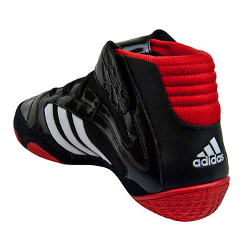 Adidas-VaporspeedII-WrestlingShoes-BlackRed-9 | by wrestlinggear
