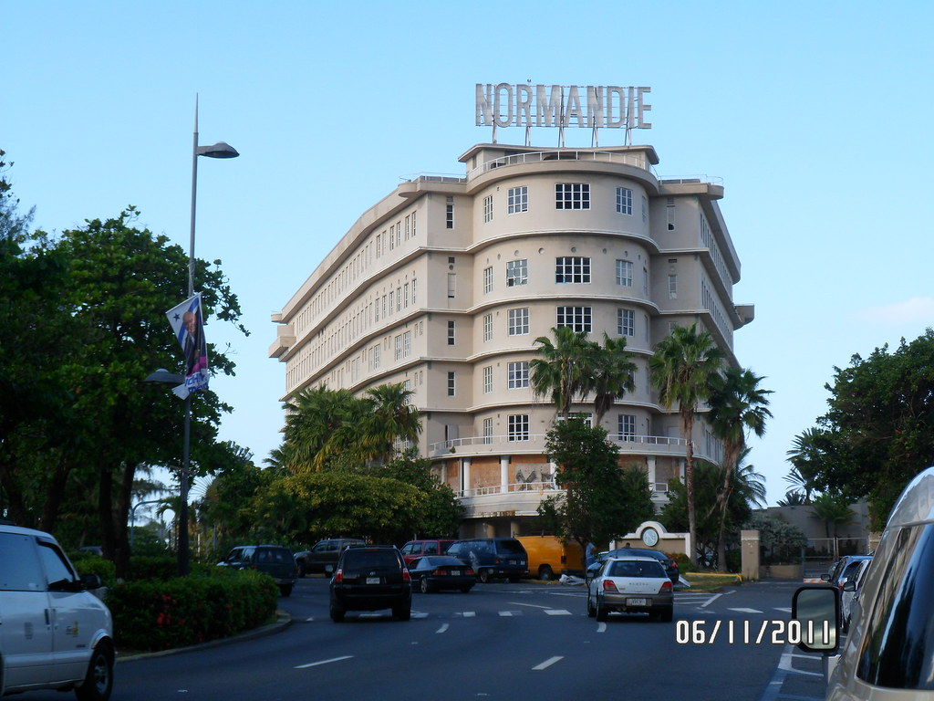 Puerto rico normandie hotel san juan the design of for Hotel design normandie