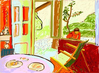 rooms i'll never be in: pierre bonnard's dining room in th… | flickr