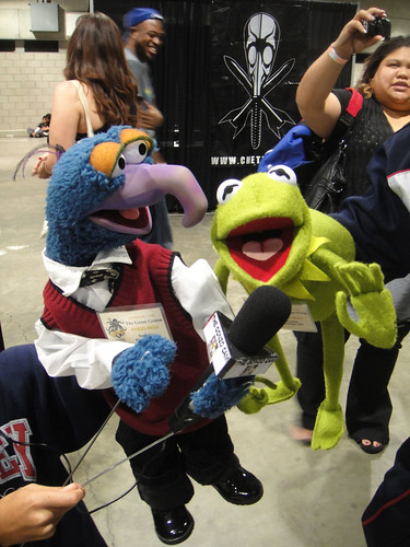 Comikaze Expo 2011 - Gonzo and Kermit the Frog Muppets | by Doug Kline