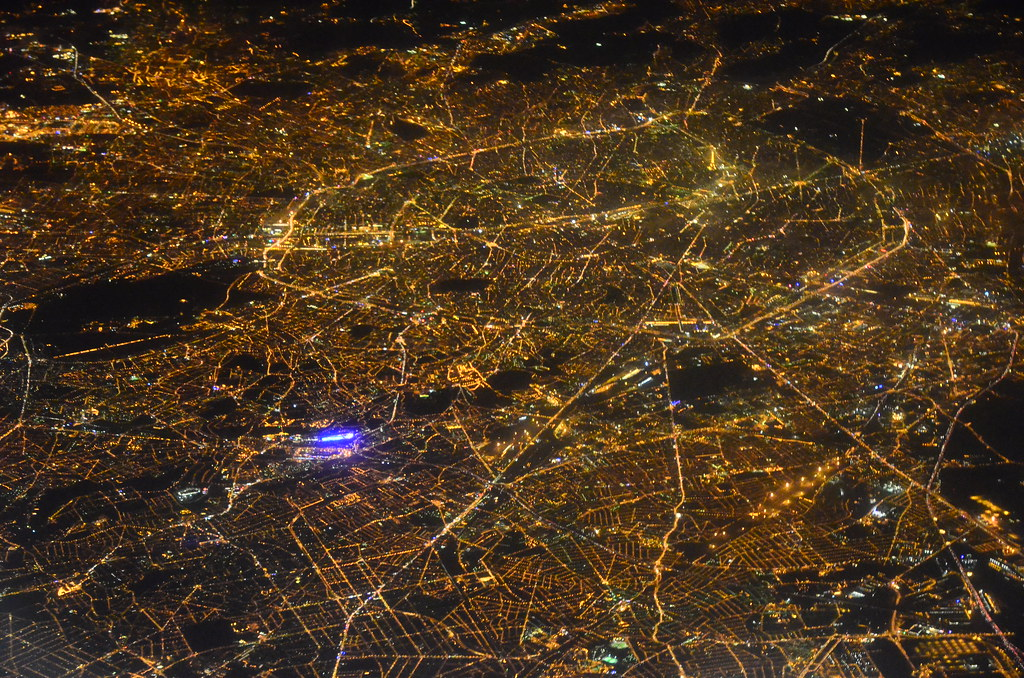 Paris by night from th...