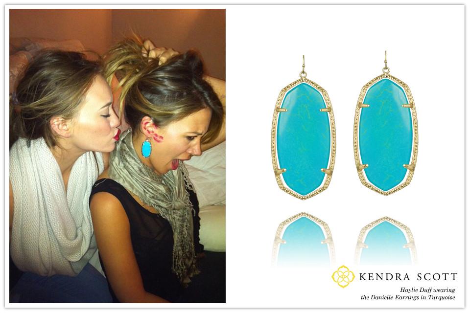 Celebrity Haylie Duff wearing Kendra Scott Designer Fashio Flickr