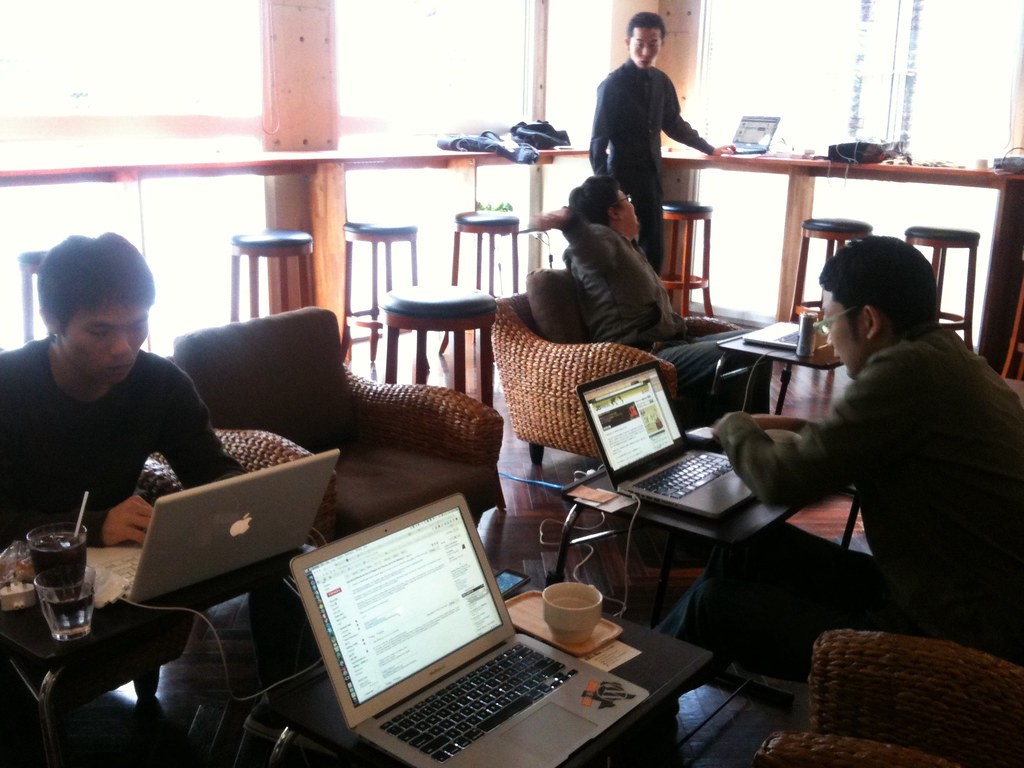 Coworking Cafe New York