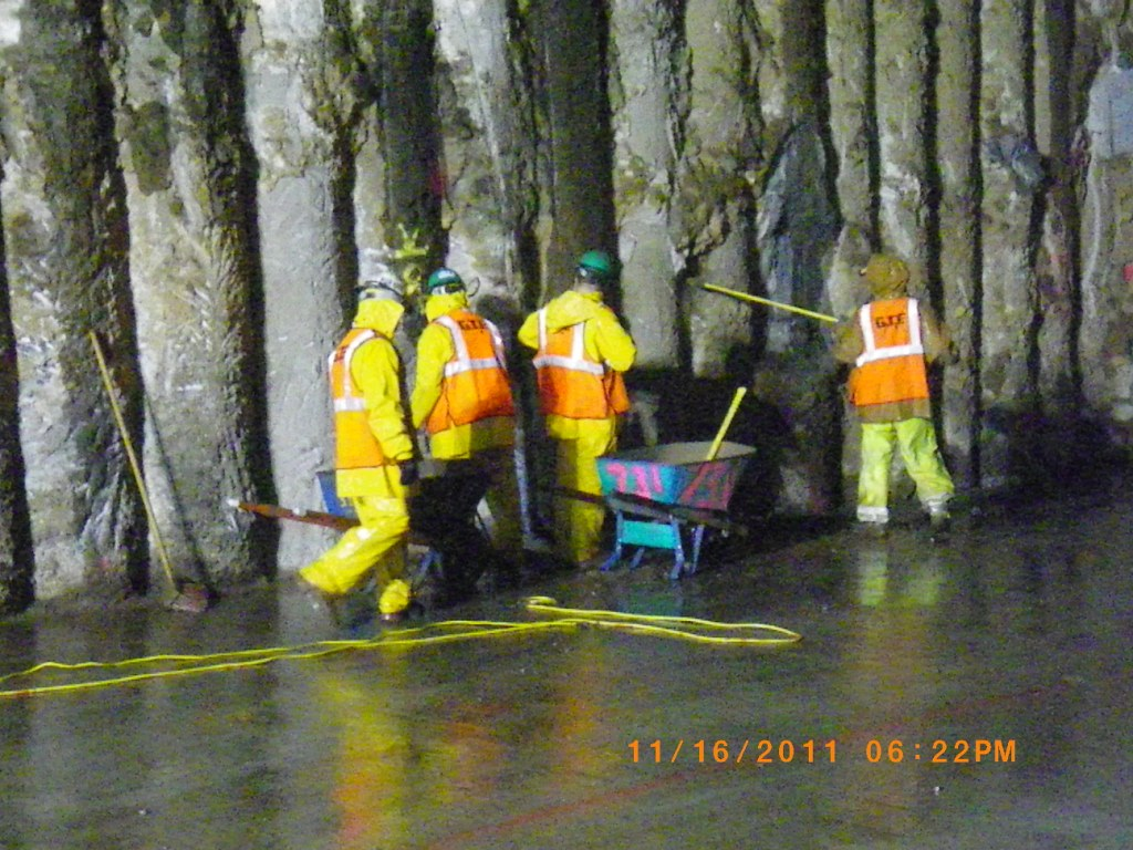 Projects >> CQ031 - Cleaning of the Secant Pile Wall At TARP (11-16-20… | Flickr