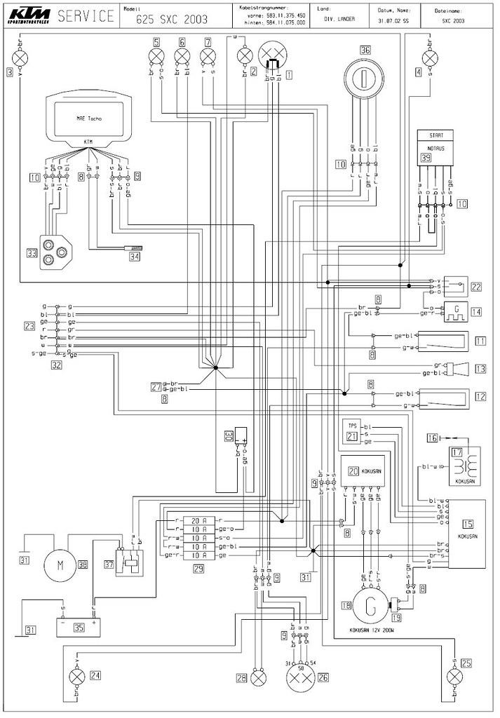 625 wiring diagram
