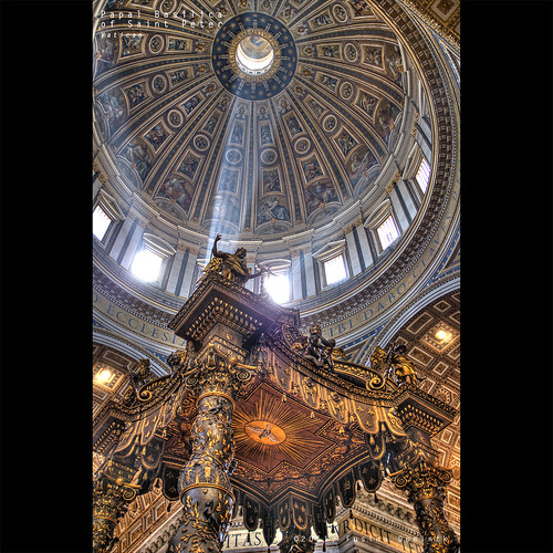 Papal Basilica of Saint Peter | Vatican | by dominikfoto