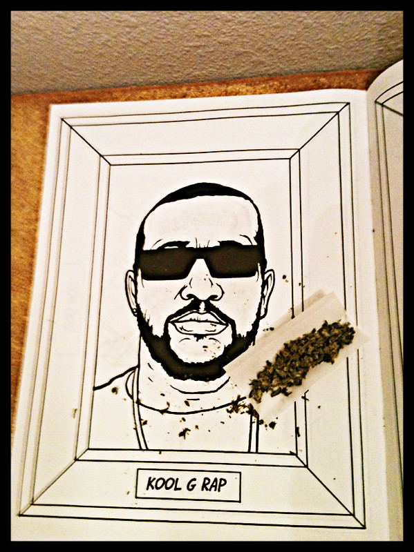 GANGSTA RAP COLORING BOOK | via PhotoToaster | BISCUITS&GRAVY | Flickr