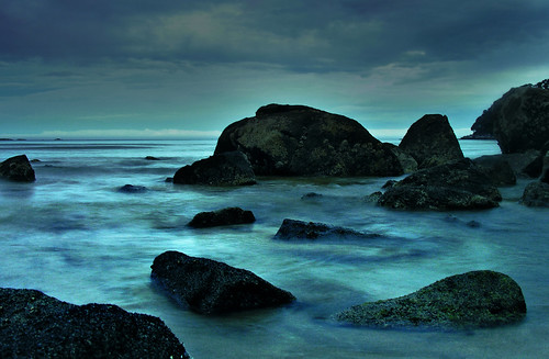 Blue Dusk, Abel Tasman Natl. Park, New Zealand | by Jo Munday Photography