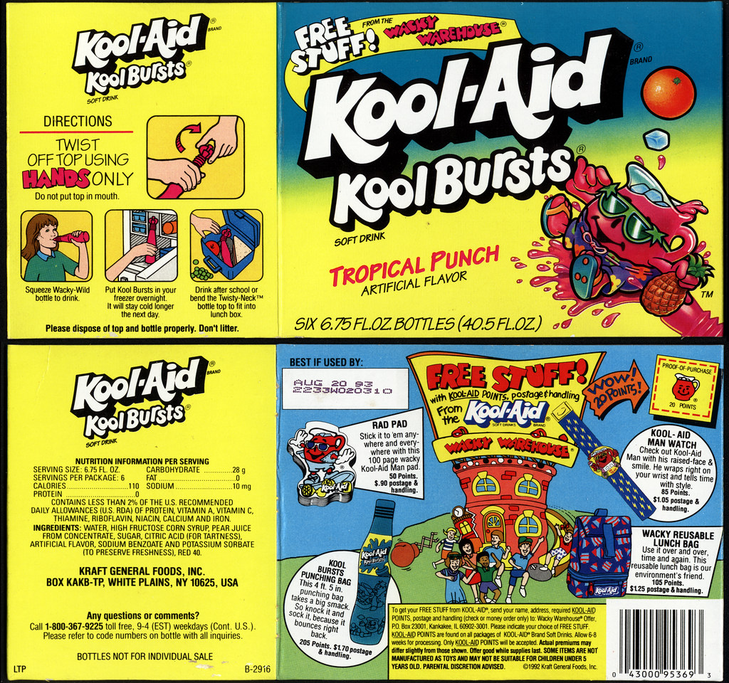 how to close kool aid burst