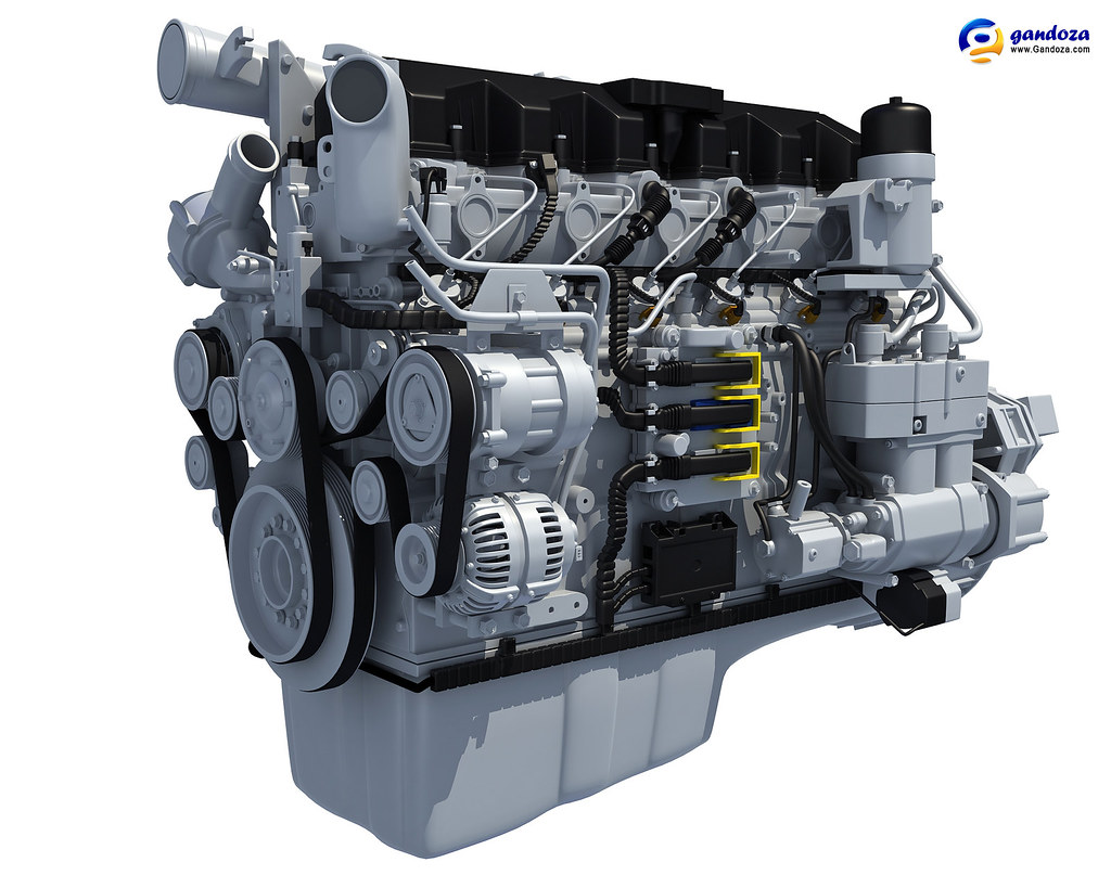 Paccar Engine For Daf  Peterbilt  And Kenworth Trucks