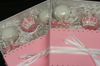 Royal Crown Cake Pops Gift Box | by Sweet Lauren Cakes
