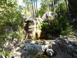 La cascade du ruisseau de Peralzone