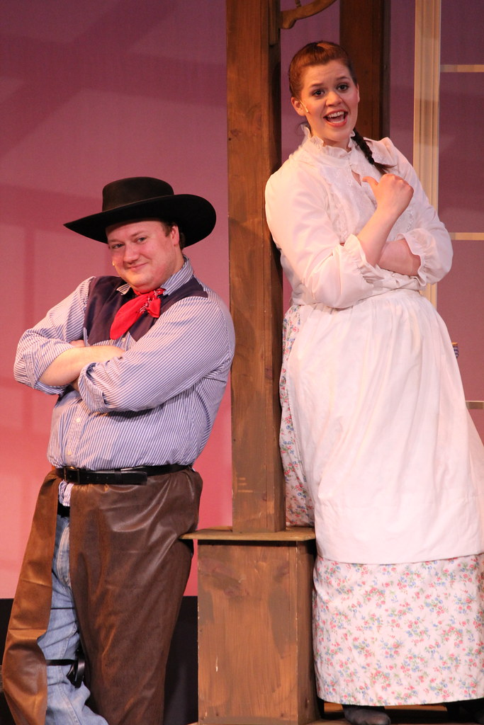 By Saint Anselm College Abbey Players Present Oklahoma