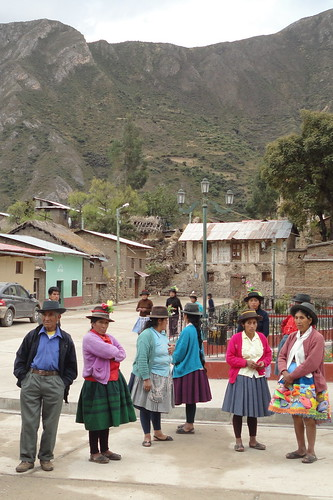 Huamanquiquia locals | by The Advocacy Project