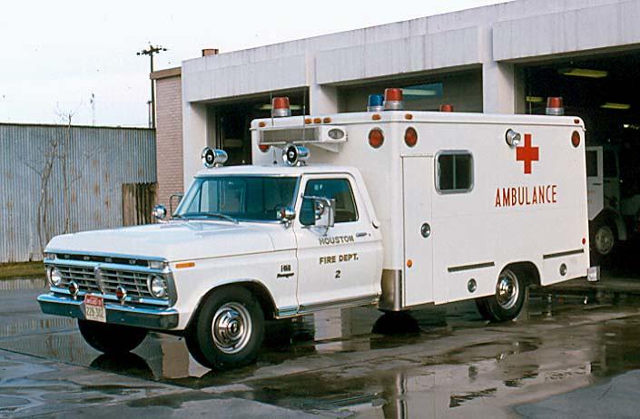 Ford F350-Modular Ambulance | Houston, Texas Fire Dept ...