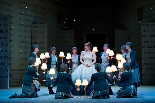Joyce Joyce DiDonato as Cendrillon and The Royal Opera Chorus in The Royal Opera's Cendrillon © Bill Cooper/ROH 2011 | by Royal Opera House Covent Garden