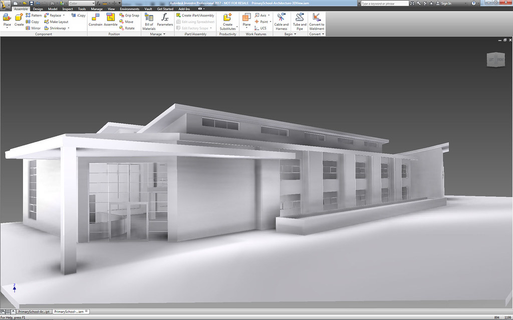 Revit school building this is a school building one my for Autodesk online home design