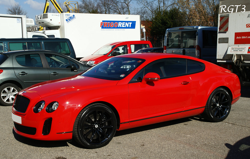 Bentley Continental Gt Supersports 6 0 W12 621hp