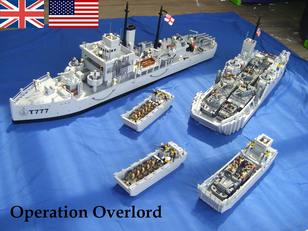 6th of june 1944 operation overlord d day off the for Lego world craft
