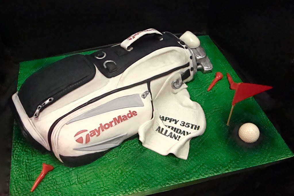 Golf Bag Cake Images : golf bag cake For some of my very best customers,they ...