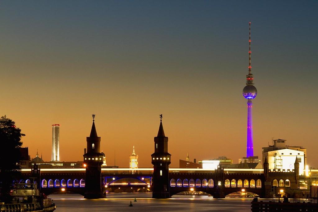 fol 2011 berlin oberbaumbr u00fccke  u0026 fernsehturm
