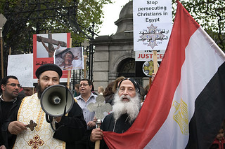 Copts' protest, Dublin | by Tom Szustek